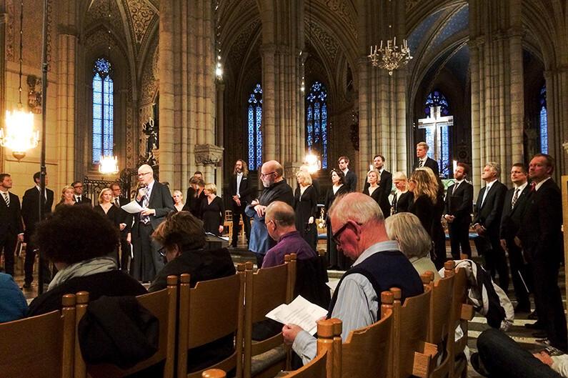 Reformationen fortsätter  att firas på musikens område. Del 2.