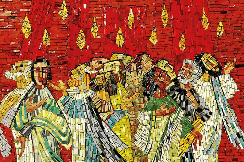 Judisk shavuot och kristen pingst