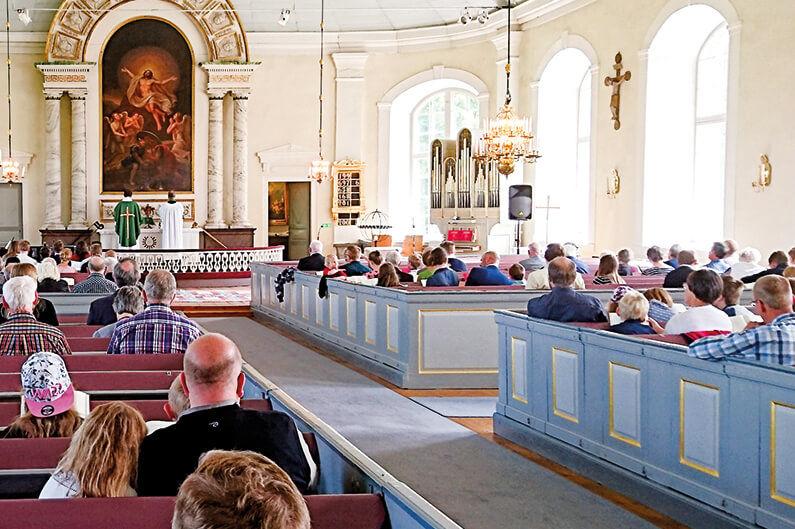 en svensk kyrka