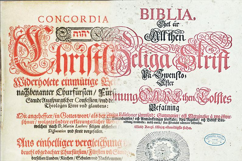 Att Vara Bunden Vid Bibeln Eller Den Lutherska Bekannelsen