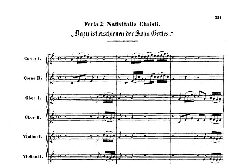 Han är nådens sol – BWV 40